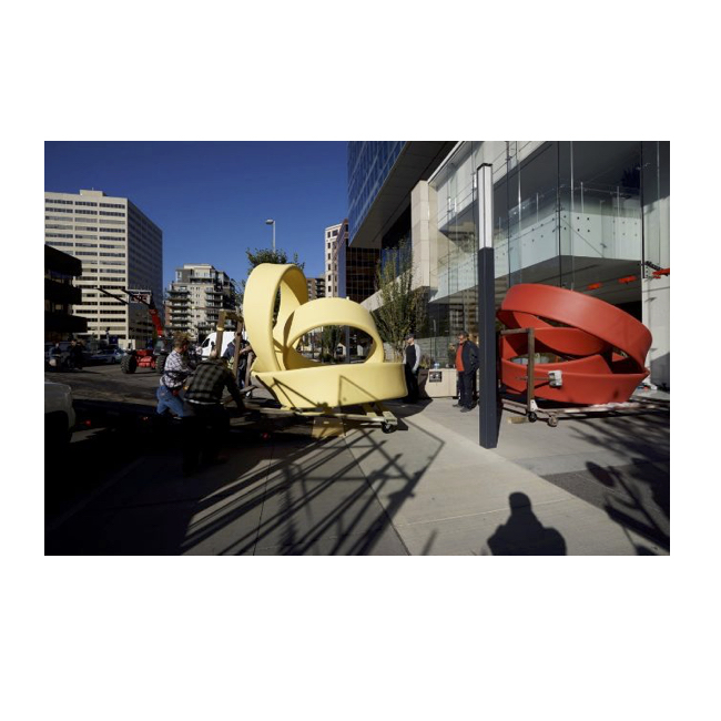 James Carl: New Sculptures at Eau Claire Tower