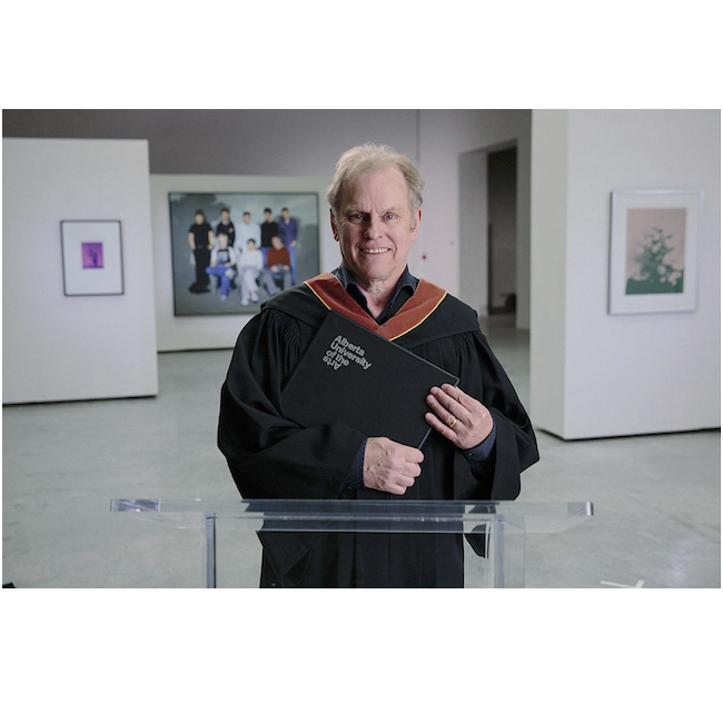 Chris Cran receives Honorary Master of Fine Arts from Alberta University of the Arts (AUArts)